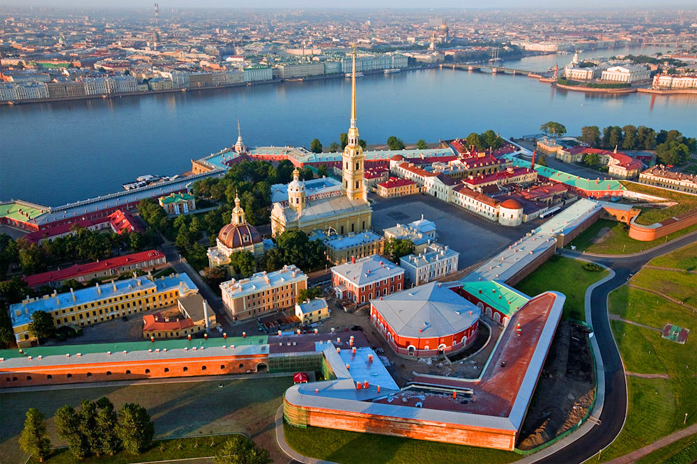 The Peter and Paul Fortress Saint-Petersburg, Russia