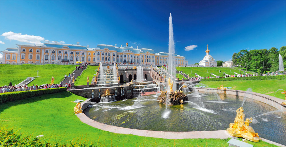 The Peterhof Palace [ Petrodvorets ] 'Russian Versailles'