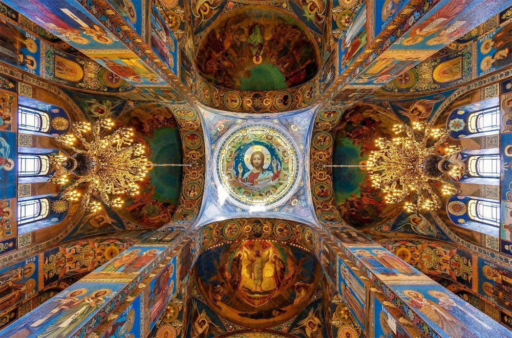 Cathedral of the Savior on the Blood, Saint-Petersburg, Russia