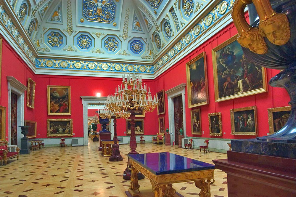 Winter palace (State Hermitage) Saint-Petersburg, Russia