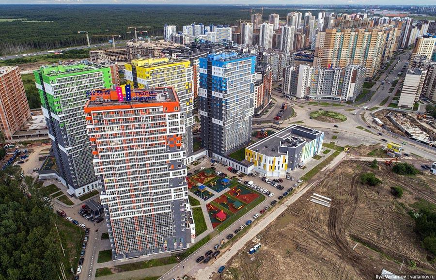 Жители Мурино, Кудрово и др гетто Питера записали обращение к Путину