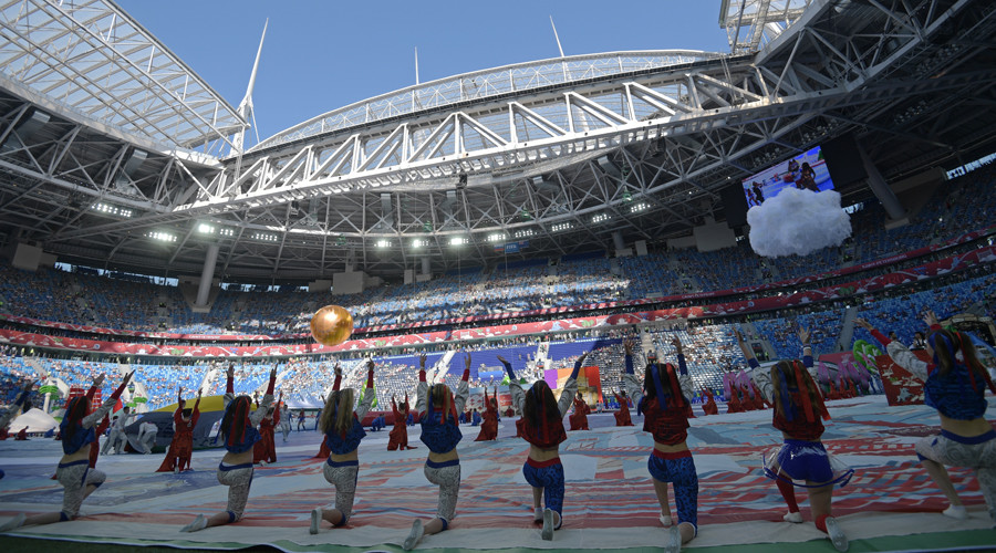 FIFA Confederations Cup-2017 Opening, Saint-Petersburg