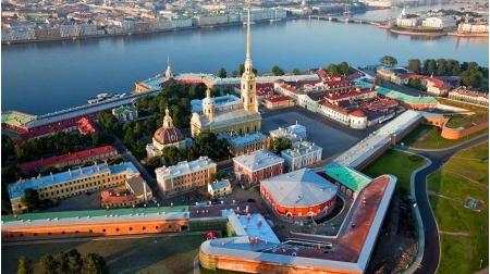 памятник, Петропавловская крепость